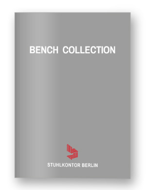 Katalog Bench Collection by Stuhlkontor Berlin
